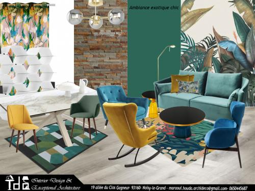 Ambiance exotique chic